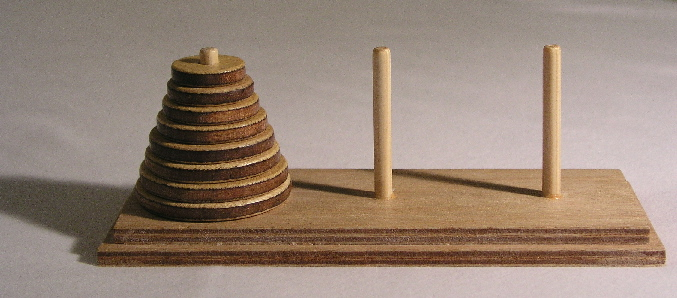 What a difference a peg makes: 4 peg Tower of Hanoi — Republic of ...